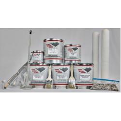 Garage-Coat Epoxy Double Kit With Optional Urethane Topcoat (approx 500 sq ft)